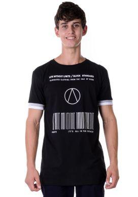 Camiseta-Alongada-Detalhe-Nas-Mangas-Preta