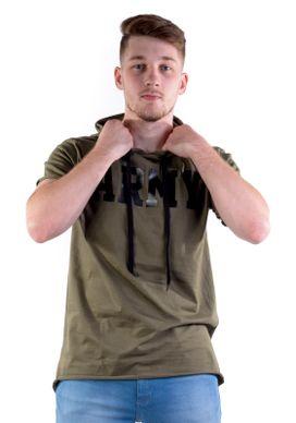 Camiseta-Alongada-Army-Com-Capuz-Verde-Oliva
