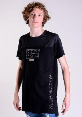 Camiseta-Alongada-Preta-Recortes-Suede