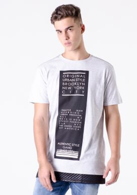 Camiseta-Alongada-Mescla-Branco-Barra-Matelasse