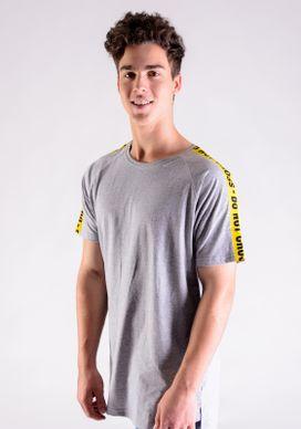 Camiseta-Alongada-Mescla-Faixa-No-Ombro
