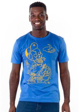 Camiseta-Caveira-Vetorizada-Azul