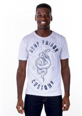 Camiseta-Serpente-Mescla-Branco