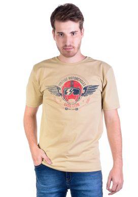 Camiseta-Motorcycle-Vintage-Caqui