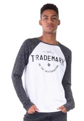 Camiseta-Manga-Longa-Raglan-Trademark-Branca
