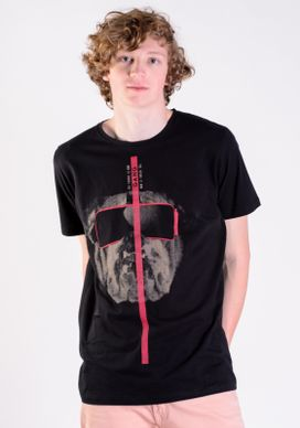 Camiseta-Preta-Bulldog-De-Oculos