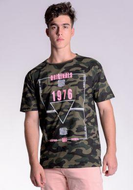 Camiseta-Camuflada-Escritas-Rosa