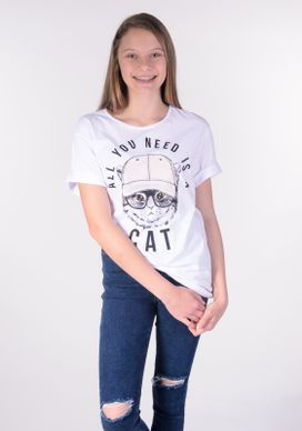 Camisetao-Branco-Cat-Bone-Rosa