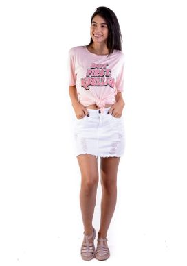 T-shirt-Over-Rosa