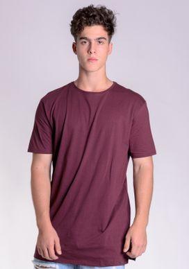 Camiseta-Basica-Alongada-Vinho