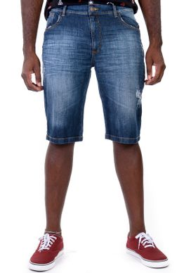 Bermuda-Jeans-Puidos-Azul-Escuro