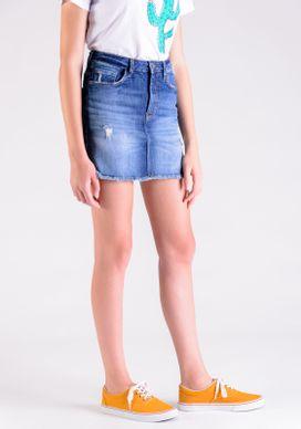 Saia-Jeans-Dirty-Barra-A-Fio-Desfiada