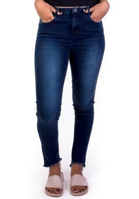 Calca-Jeans-Cigarrete-Cintura-Media-Azul-Escuro