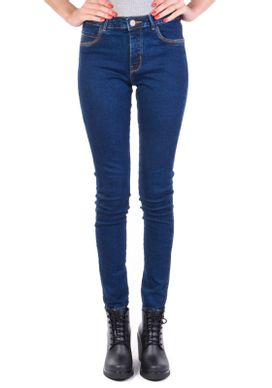 Calca-Jeans-Cigarrete-Cintura-Media-Azul-Escura