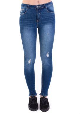 Calca-Jeans-Cigarrete-Cintura-Media-Rasgos-Dirty