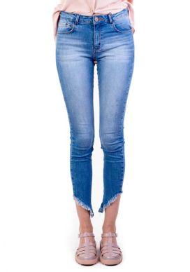 Calca-Jeans-Cigarrete-Cintura-Media-Azul-Clara