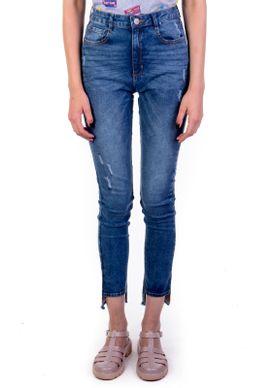 Calca-Jeans-Cigarrete-Cintura-Alta-Marmorizada