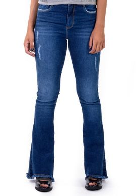 Calca-Flare-Jeans-Cintura-Media-Puidos