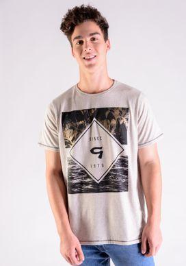 Camiseta-Botone-Linho-Floral-com-Foil-Dourado