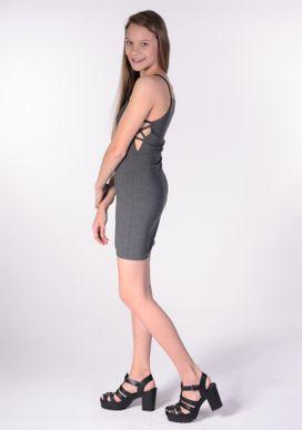 Vestido-Suplex-Cinza-Abertura-Lateral