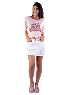 T-shirt-Over-Rosa