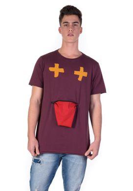Camiseta-Vinho-Divertida-Bolso-Boca-com-Ziper