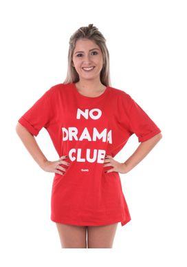 Camiseta-Alongada-No-Drama-Vermelha