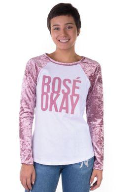 Camiseta-Manga-Longa-Raglan-Veludo-Rose