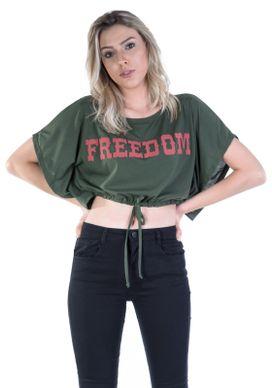 Blusa-Cropped-Verde-Freedom-Cordao-Cintura