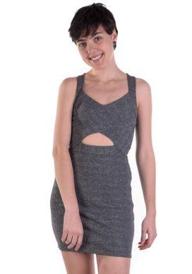 Vestido-Bandagem-Cinza-Brilho