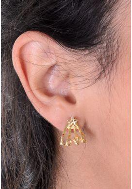 Brinco-Love-Ear-Jacket-Dourado