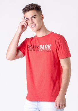 Camiseta-Vermelha-skatepark
