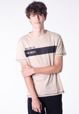Camiseta-Caqui-Faixa---Escritas