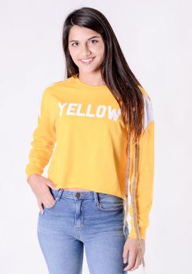 Blusa-Moletinho--Amarelo-Yellow