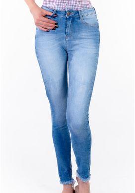 Calca-Jeans-Cigarrete-Cintura-Media-Blue-Claro-Desfiada