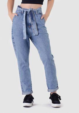 Calca-Mom-Clochard-Jeans-Com-Faixa-na-Cintura