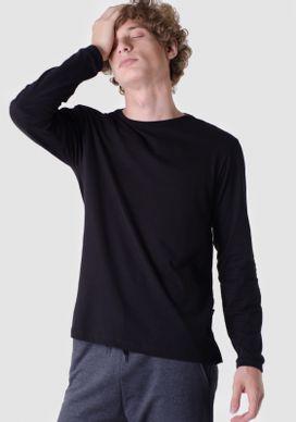 Camiseta-Basica-Manga-Longa-Preta