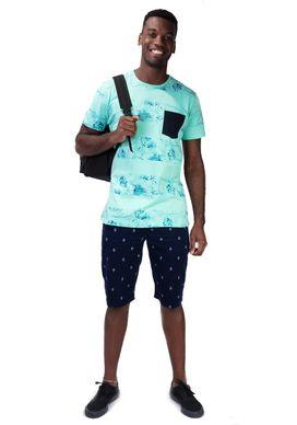 Camiseta-Full-Print---Listras-Florais-Verde