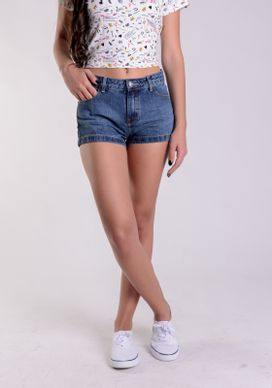 Short-Jeans-Cintura-Media-Azul-Medio