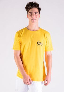 Camiseta-Amarela-Gang-Skate-Costas