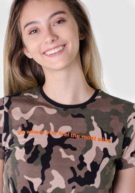 Camiseta-Manga-Curta-Camuflada