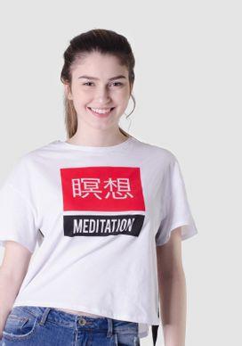 Camiseta-Manga-Curta-Branca-Ideograma