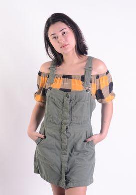 Vestido-Jardineira-Verde-Militar-Bolsos-Verde