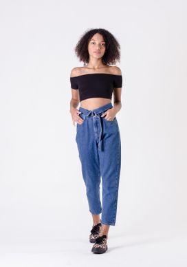 Calca-Mom-Clochard-Jeans-Detalhe-Cinto