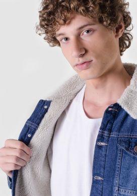 Jaqueta-Jeans-Com-Pelo-Azul-Medio