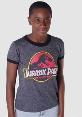 Blusa-Manga-Curta-Jurassic-Park
