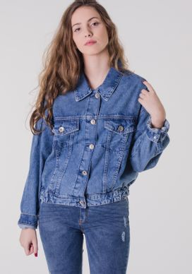 Jaqueta-Jeans-Bomber-Retro