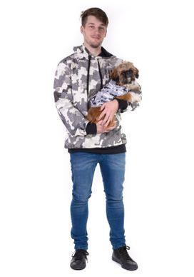 Camiseta-Para-Pet-Camuflada