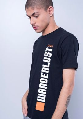 Camiseta-Manga-Curta-Wanderlust-Vertical-Preta