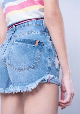 Short-Jeans-Com-Rasgos-Linha-Neon